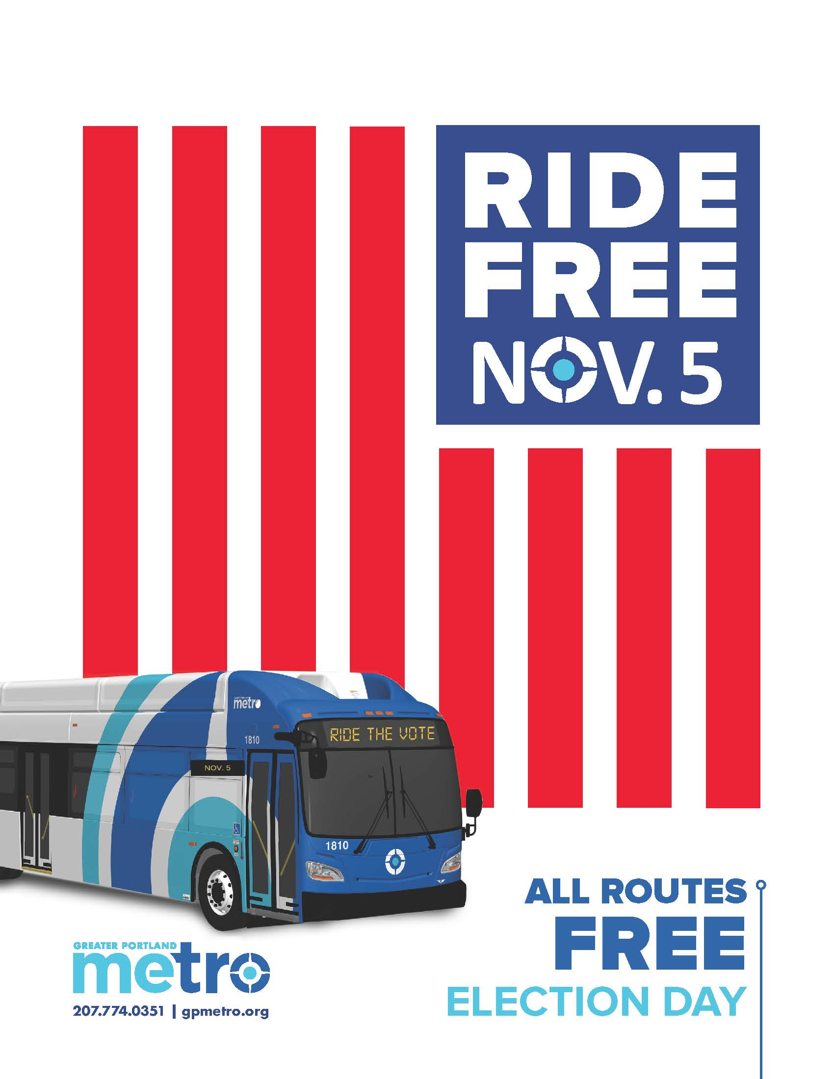 Election Day Free Rides 2019